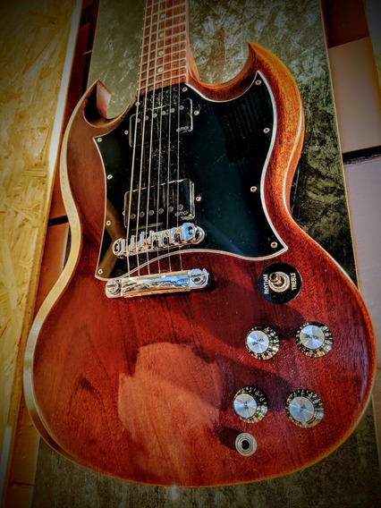 Guitarra Gibson Sg Special Faded Julio 2007 Emg - Palermo