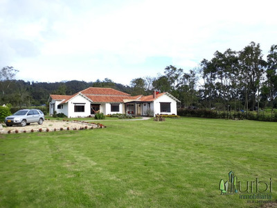 En Venta Espectacular Casa Campestre Sector Tabio