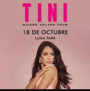 Entradas Cabecera L Tini Luna Park 18/10 22hs. Ultimas!!
