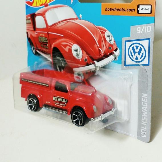 Hot Wheels Volkswagen Beetle Pick-up 49 Vw Fusca Service Red