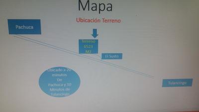 Terreno Campestre Rectangular 6523 M2, Luz Trifasica