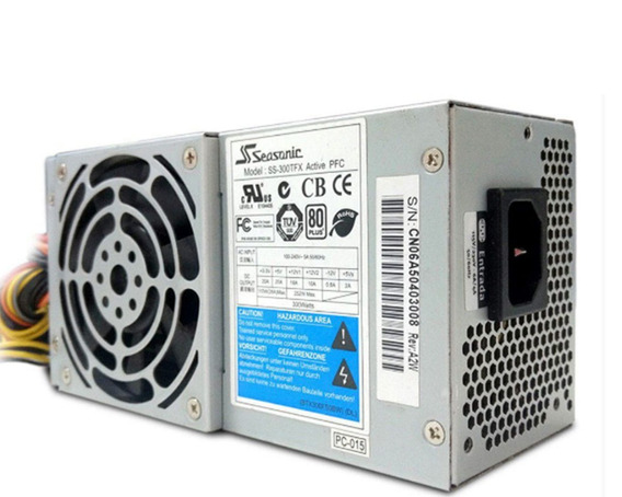 Fonte Hp Pc8046 Slimline Seasonic Dell Ibm Hp 4 Sata 300w