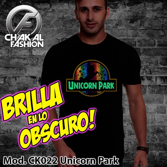 Playera Unicorn Park Jurasic Arcoiris Ck022