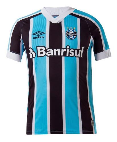 Imagem 1 de 4 de Camisa Grêmio Oficial I 21/22 N°10 Torcedor Umbro Masculina