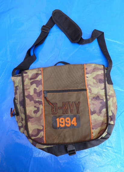 Bolso Old Navy , Color Verde Camuflado Cordura