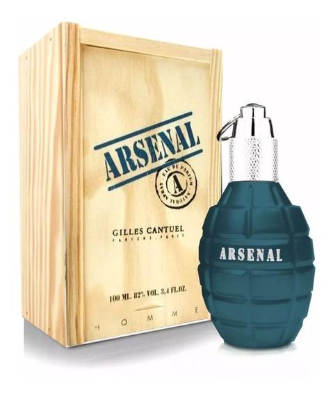 Perfume Arsenal Blue 100ml Edp 12x Sem Juros Nota Fiscal.