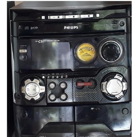 Mini System Hifi Philips Fw C 507 -- Somente O Console
