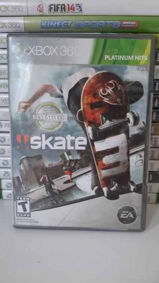 Skate 3 Xbox 360 Original - Frete 12