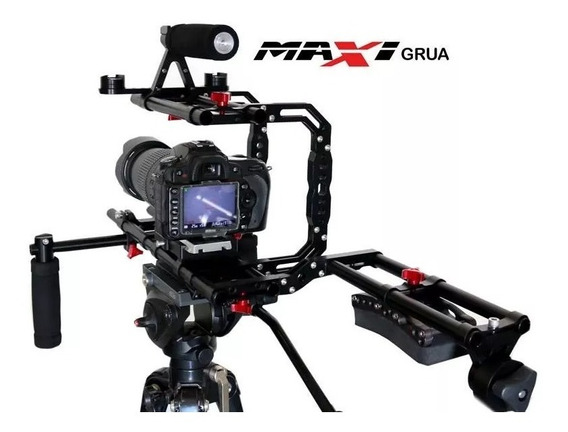 Suporte De Ombro Maxigrua Shoulder Rig Pro Dslr Canon Nikon