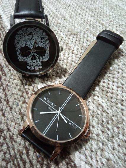 Kit Com 2 Relógios Femininos Weesky