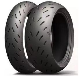 Par Pneu Michelin Para B.king 120/70-17+200/55-17 Power Rs