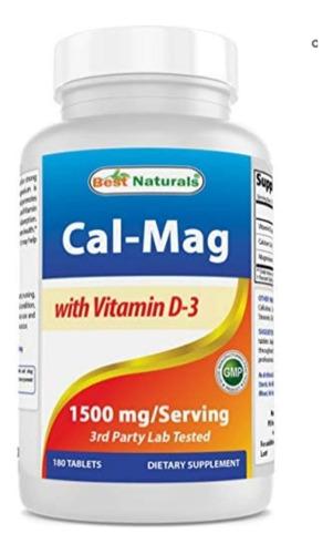 Vitamina D3 Con Magnesio Y Calcio ..entrega Hoy