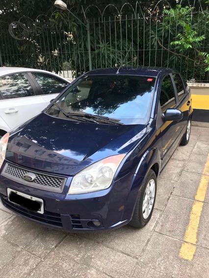 Ford Fiesta 1.6 Sedan, 2009, Completo, Banco De Couro, Gnv