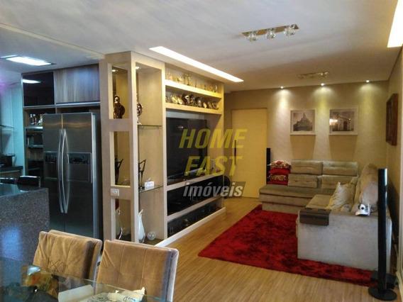 Apartamento No Isla Lago Dos Patos Com 3 Dormitórios À Venda, 114 M² Por R$ 742.000 - Vila Galvão - Guarulhos/sp - Ap1233