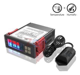 Control De Temperatura Con Higrometro Digital 110 Incubadora