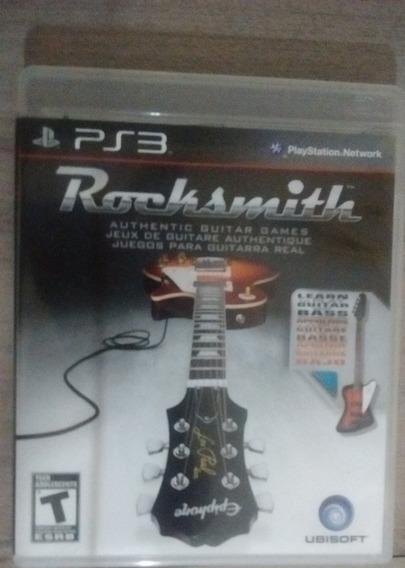 Rocksmith Ps3, Cd Original, Pouco Utilizado