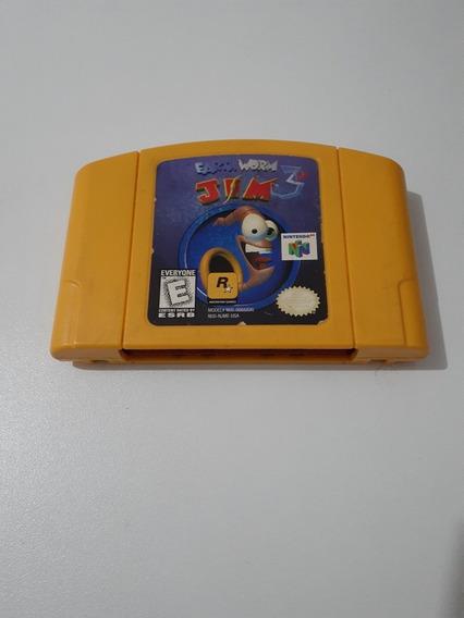 Jogo Earthworm Jim 3d (nintendo 64)