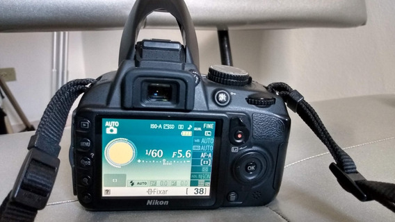 Câmera Nikon D3100 - Menos De 10 Mil Cliques