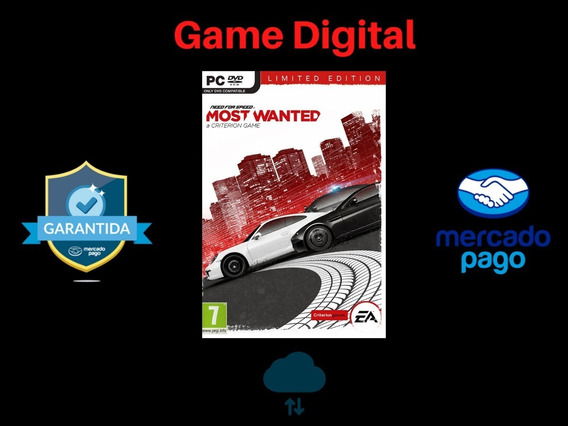 Need For Speed 2012 + Brinde Envio Digital Pc