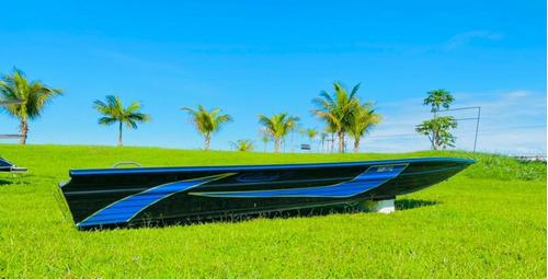 Embarcação De Alumínio Calaça Mod Flash Bass 600 De 6 M