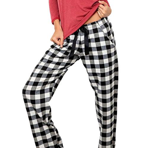 Pantalones Mujer Sueltos Frisados Bianca Secreta 20264 Mercado Libre