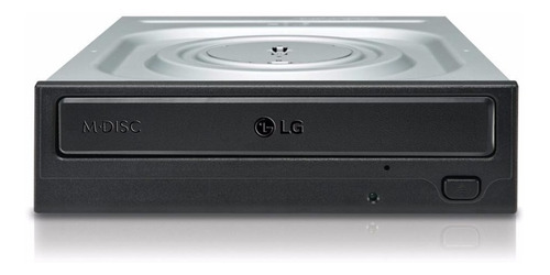 Imagem 1 de 2 de Gravador Dvd-rw LG 24x Sata Preto