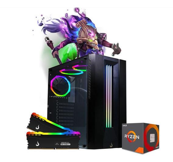 Pc Gamer Spectrix Rgb Amd Ryzen R3 3200g, 2x8gb Hd 500gb