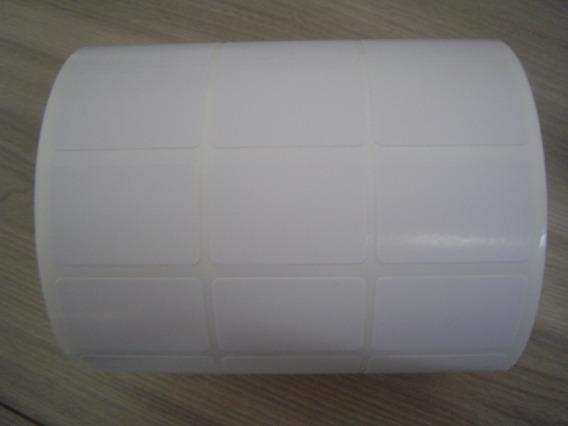 Etiqueta 33x22 Mm 3 Colunas Couché Zebra, Argox