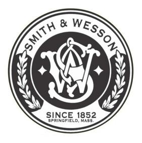 Adesivo Smith E Wesson Adesivo Externo