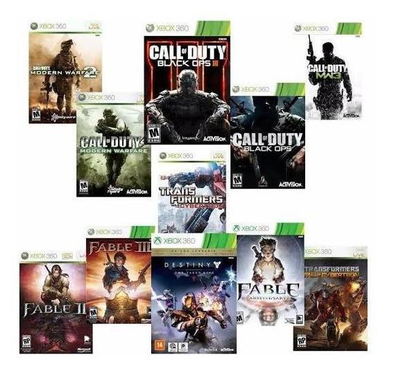 Pacote De 11 Jogos Xbox 360
