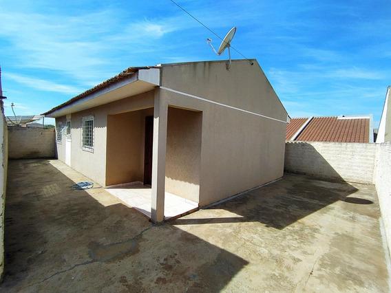 Casa Com 3 Dormitórios, 64 M² - Venda Por R$ 138.000,00 Ou Aluguel Por R$ 600,00 - Cará-cará - Ponta Grossa/pr - Ca0487