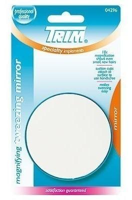 Imagen 1 de 1 de Trim Espejo Aumento 10x Con Sopapas De Adhesion