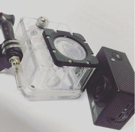 Instalação/adaptação De Microfone Externo Câmera De Ação