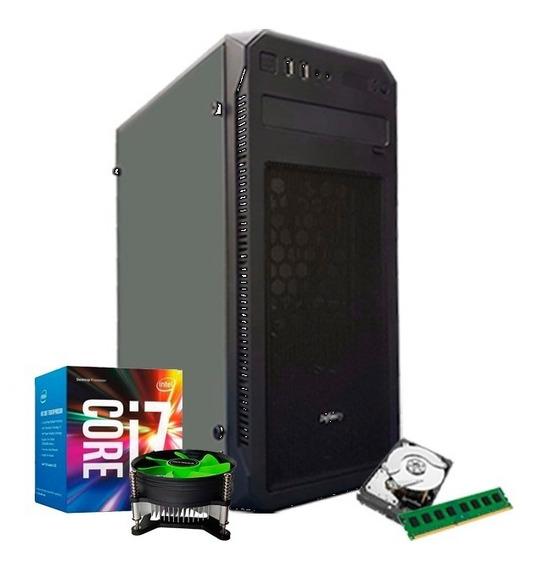 Cpu Intel I7 7700 Kaby Lake, 16gb Ddr4, Ssd 240gb, 1tb + Nfe