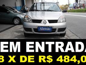 Clio Authentique 1.0 Flex 2008 Sem Entrada + 48 X R$ 484,00