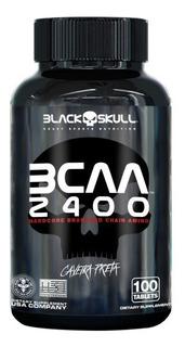 Bcaa 2400 100 Tabletes - Black Skull 2:1:1