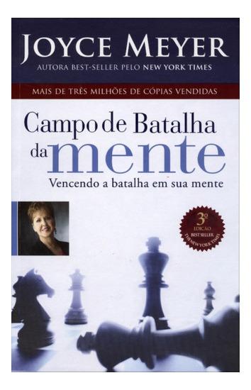 Livro Campo De Batalha Da Mente Joyce Meyer