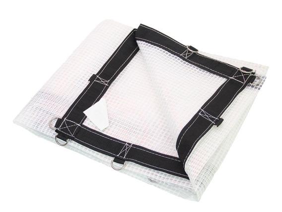Lona Transparente 5 X 4 Mts Cobertura Pergolado Impermeável