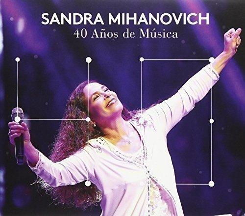 Cd Sandra Mihanovich 40 Años De Musica