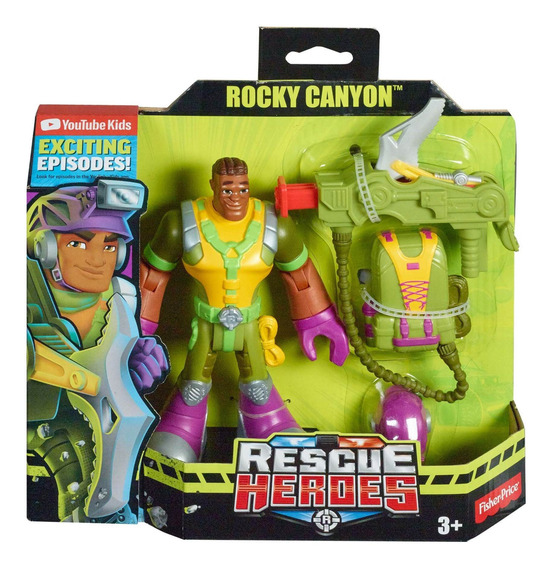 Fisher-price Rescue Heroes Rocky Canyon