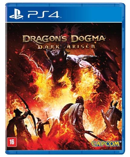 Jogo Midia Fisica Dragons Dogma Dark Arisen Para Ps4