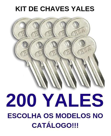 Kit De 200 Chaves Yales Virgens Para Cópia - Rca
