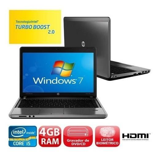 Notebook Hp Probook 4440s Core I5 3° 4gb 500hd (promoção)