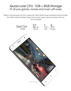 Zopo C2 Smartphone 3g Wcdma Android 6.0 Os Quad Core Mtk6580