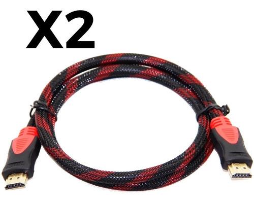 Cable Hdmi A Hdmi 1080 1.5 Metros Reforzado Xbox Ps4