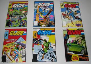 G.i. Joe Comics # 5,8,9,44 Y 101 Lote