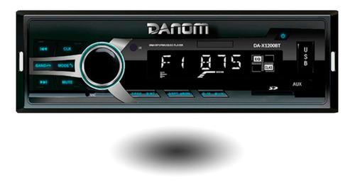 Reproductor De Audio Para Carro Mp3 Bluetooth Usb Danom