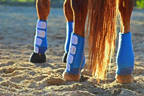 Caneleiras Para Cavalo Kit P As 4 Patas