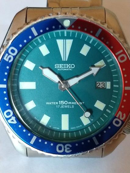 Relógio Seiko Diver 150m Verde Original, Japonês.