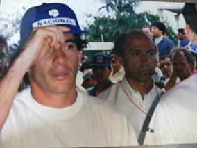 Idolo Ayrton Senna É Campeão Mclaren E Jó Ramirez (foto)